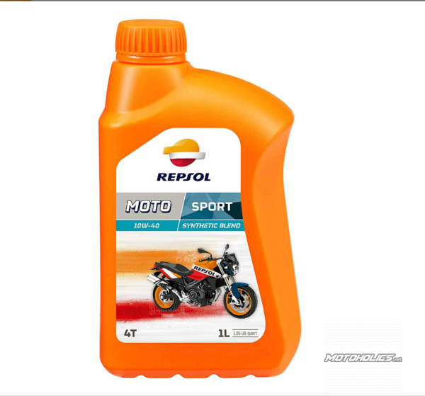 REPSOL MOTO SPORT 4T 10W-40 engine oil