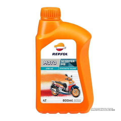 repsol 10w40 Scooter MB/ Synthetic blend (800ml)