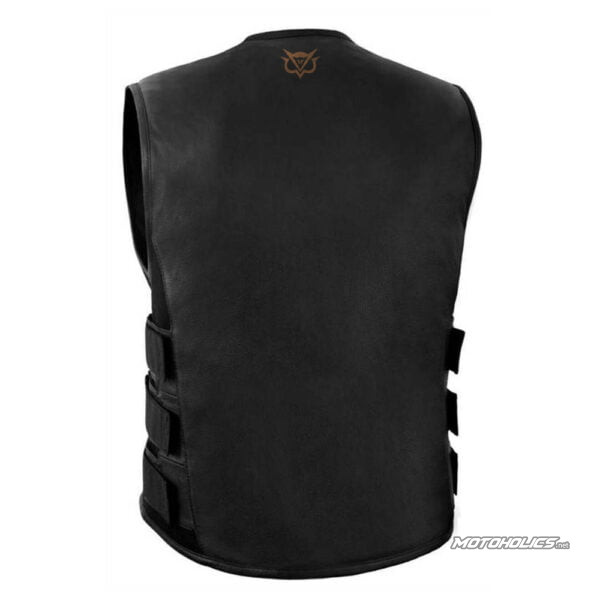 MH leather vest