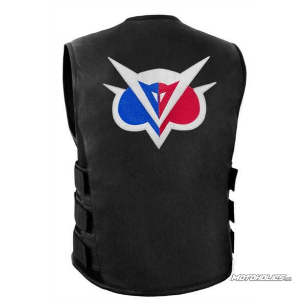 Motoholics leather Vest