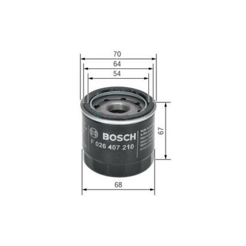 BOSCH Oil Filter F026407210
