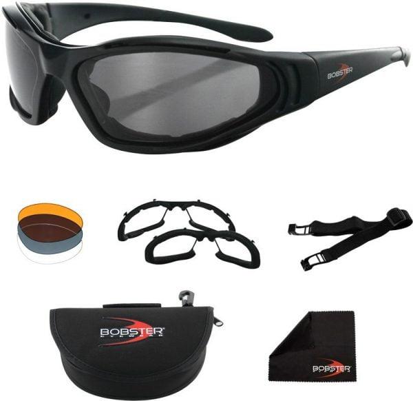 Bobster® Raptor 2 Matte Black Frame